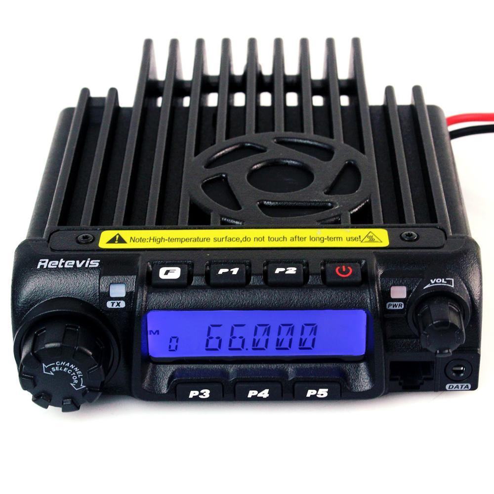 Retevis RT 9000D Mobiele Autoradio Transceiver VHF 66 88MHz (of UHF) 60W 200CH Scrambler Walkie Talkie + Speaker MIC + Programma Kabel-in Portofoon van Mobiele telefoons & telecommunicatie op AliExpress - 11.11_Dubbel 11Vrijgezellendag 1