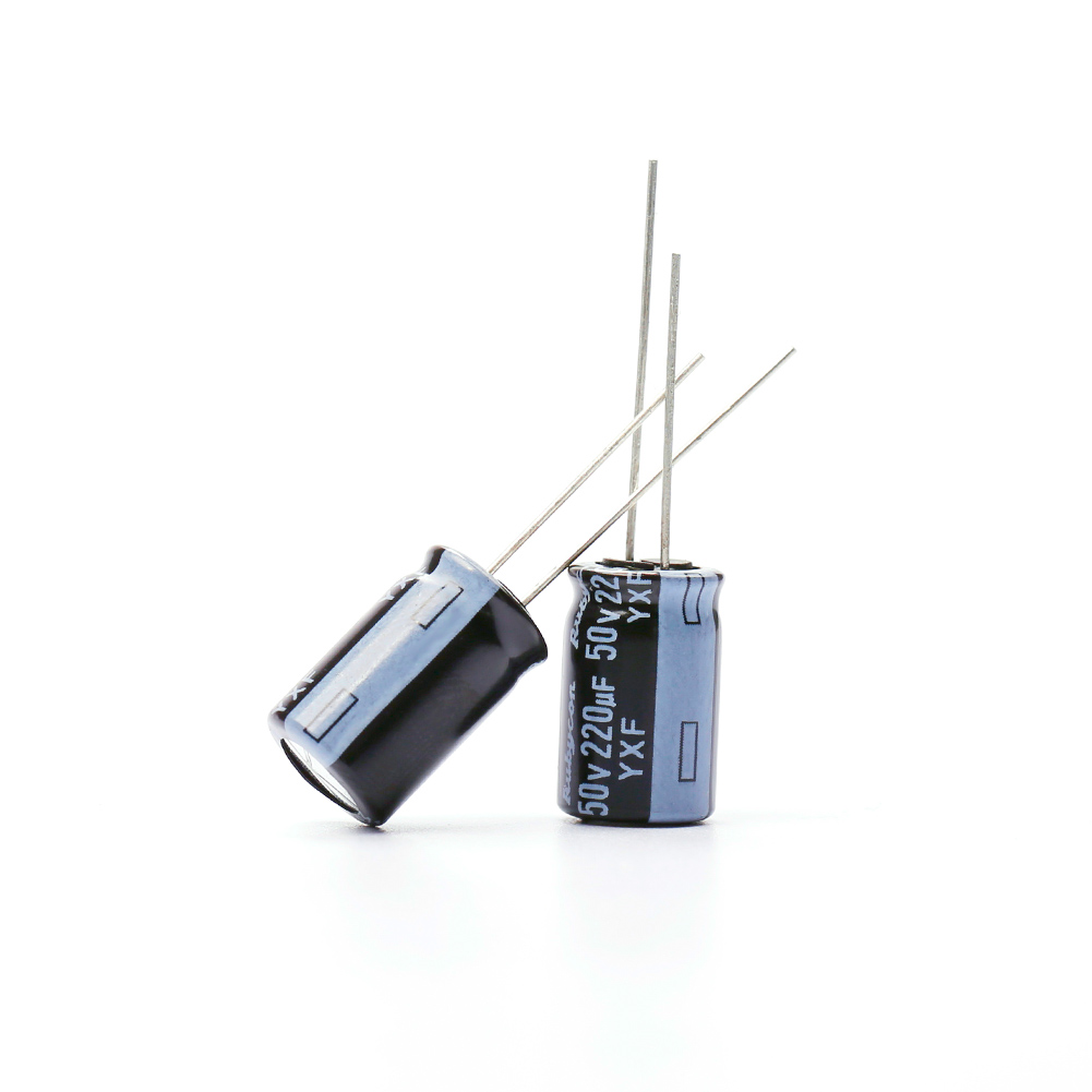 10PCS 220uf 25V 220uF 35V 220uF 50V Internal Resistance High Frequency Capacitor For RC FPV Drone  ESC F3 F4 F7 Flight Control
