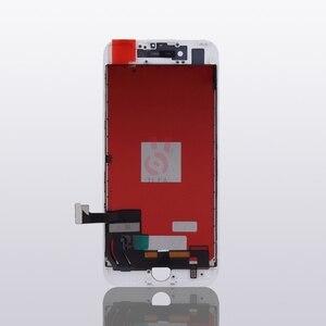 Image 4 - 10 adet/grup 100% Test AAA hiçbir ölü piksel IPhone 7 için LCD ekran dokunmatik ekran Digitizer meclisi yedek siyah beyaz ücretsiz DHL