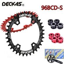 96 BCD-S oval chainring mtb bicicleta 32t 34t 36t 38t corrente anel redondo mountain bike bicicleta roda dentada apto shimano xtr xt slx