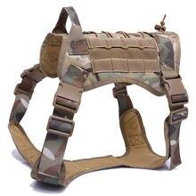 Нейлоновая шлейка для собак тактическая Водонепроницаемая жилетка