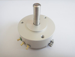 Sensor de ángulo de potenciómetro de plástico conductivo sin potenciómetro de límite WDD35D4 interruptor de salida de fábrica 1K