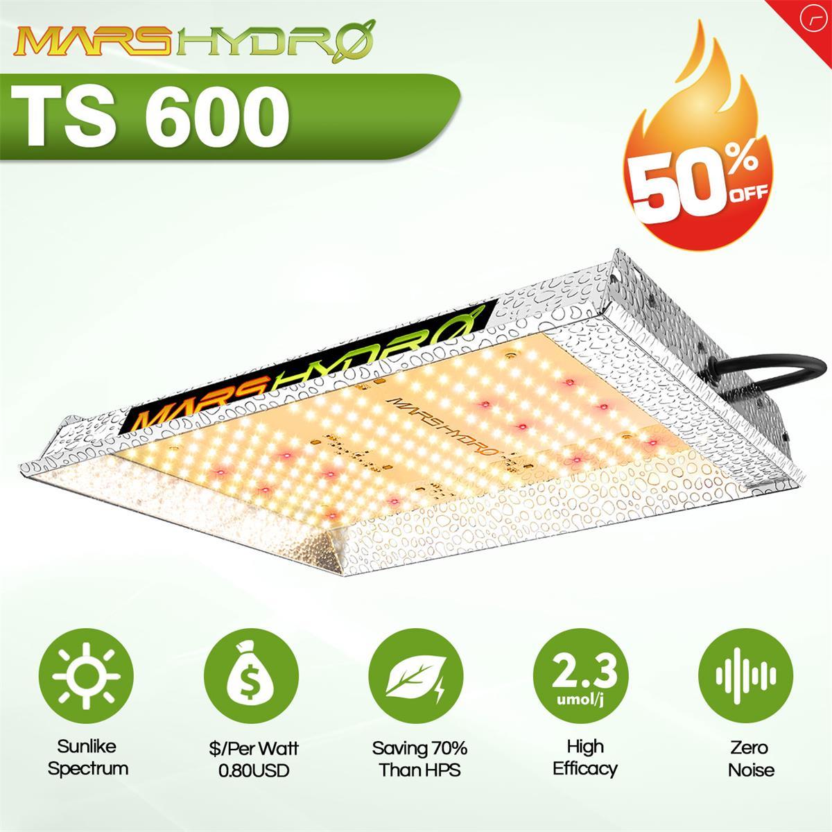 TS 600W Mars hydro полный спектр светодиодный Grow светильник Sunlike заменить Quantum HPS Крытый гидропоники растения растут лампы светильник s доска