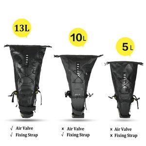 Image 2 - Rhinowalk 10L 13L Volledige Waterdichte Fiets Zadeltas Road Mountainbike Fietsen Rear Rack Bag Bagage Fietstas Fiets Accessoires