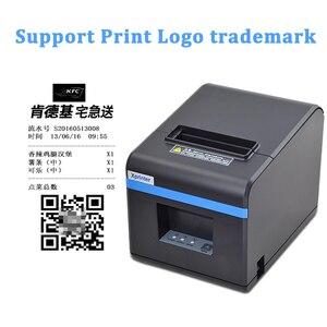 Image 4 - 80mm drukarka pokwitowań termicznych drukarka POS Port USB Bluetooth Ethernet z automatyczną obcinarką obsługa androida, iOS, tabletu iPad