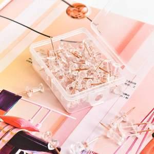 Thumb-Thumbtack-Board-Pins Nail Push-Pins 100pcs Studs-Fasteners School-Supplies Photo-Wall
