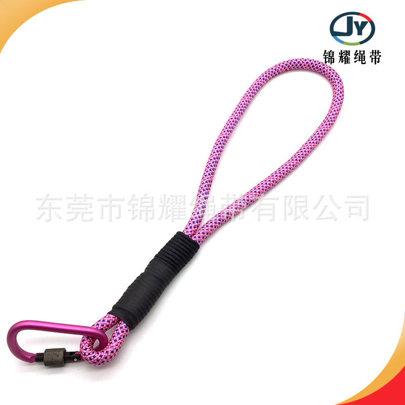 Dog Short Proof Punch Step Traction Belt Portable Sling Pet Round Rope P Pendant Hand Holding Rope