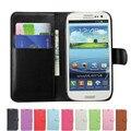 Brieftasche Fall Abdeckung Für Samsung Galaxy S3 Neo I9300 i9301 SIII GT-I9301 GT-I9301I S III GT-I9300I Duos Leder Flip Funda coque