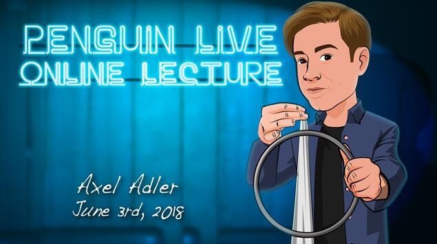 Axel Adler Penguin Live Online Lecture