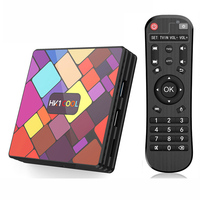 HK1 Kühlen TV BOX 4GB 128GB RK3318 2 4G/5G Dual Wifi bluetooth Media Player Android 9.0 4K HD Set Top Box Unterstützung Google Paly-in Digitalempfänger aus Verbraucherelektronik bei