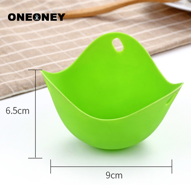 4pc/1pc Egg Poachers Silicone Egg Cooker Kitchen Tools Pancake Cookware Bakeware Steam Eggs Plate Tray Healthy Egg Pancake 6