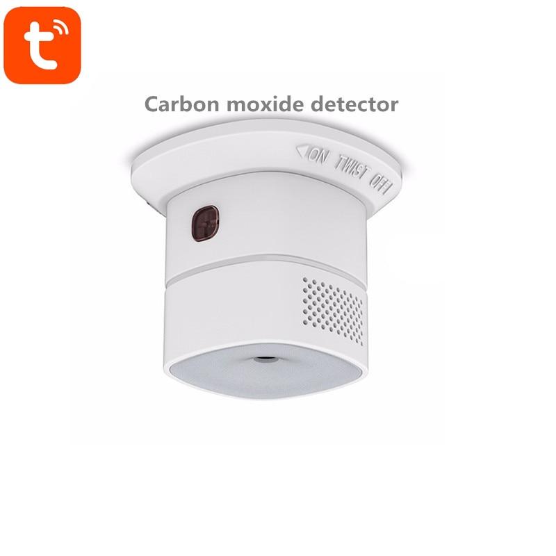 Tuya Wifi Carbon Monoxide Detector CO Gas Detector Control By Tuya Smart App