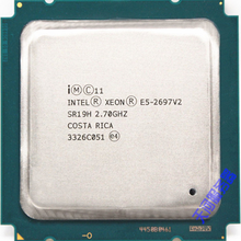 Процессор Intel xeon e5 2697 v2, 2,7 ГГц, 30 м, QPI 8GT/s LGA 2011 SR19H C2, v2, CPU Proce, v2, процессор Proce,