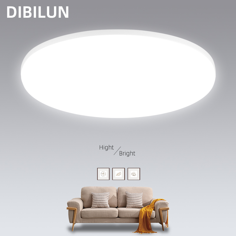 Ultra Thin LED Ceiling Light 15 20 30 50W Modern Surface Mounted Led Ceiling Lamp for Living Room Bedroom Lighting Fixture