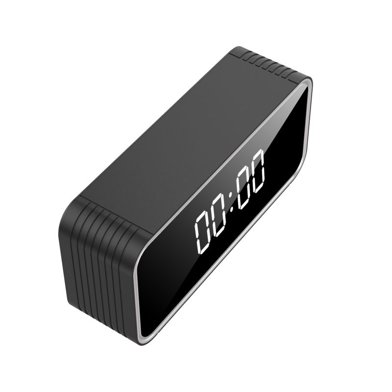 H13 WIFI Clock Camera 4K HD Support Max 128GB Memory Card 6M Detect Distance AVI Video Home Security