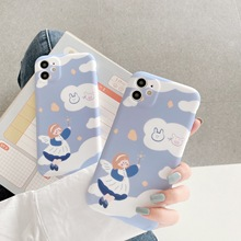 Fashion Liquid Silicone Cute Fairy Soft Case for 11 pro Max IPhone X/XS/XR Case
