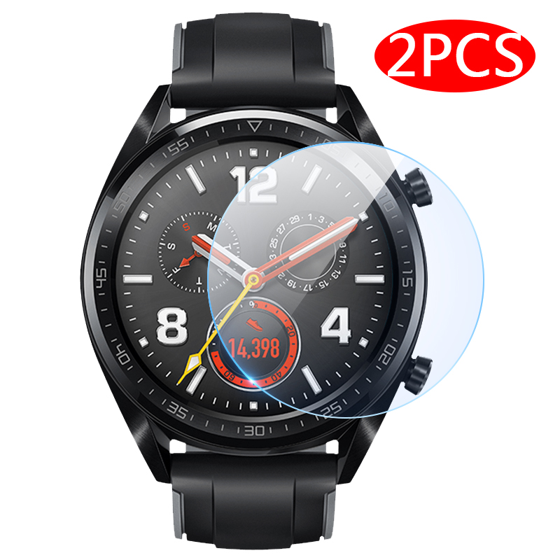 2pcs HD Screen Protector On For Huawei GT2 42mm Watch GT 2 46 22 Mm 46mm HD Soft Protective Film Accessories Not Tempered Glass
