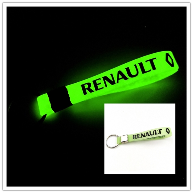 Luminous Silicone Car sticker Key Ring For Ford VW GOLF skoda bmw audi BENZ TOYOTA SAAB OPEL Car Styling Accessories Automobiles 5