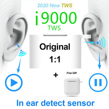 Original TWS Wireless Earphone In-ear Sport Headset Bluetooth Mini Earbuds 9D Super Bass Stereo Earphones With Mic