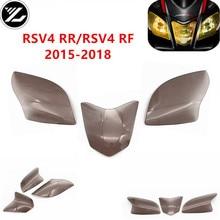 Аксессуары для мотоциклов передняя фара Защита объектива экран крышка объектива фара для aprilia RSV4 RR/RSVR RF- 16 17