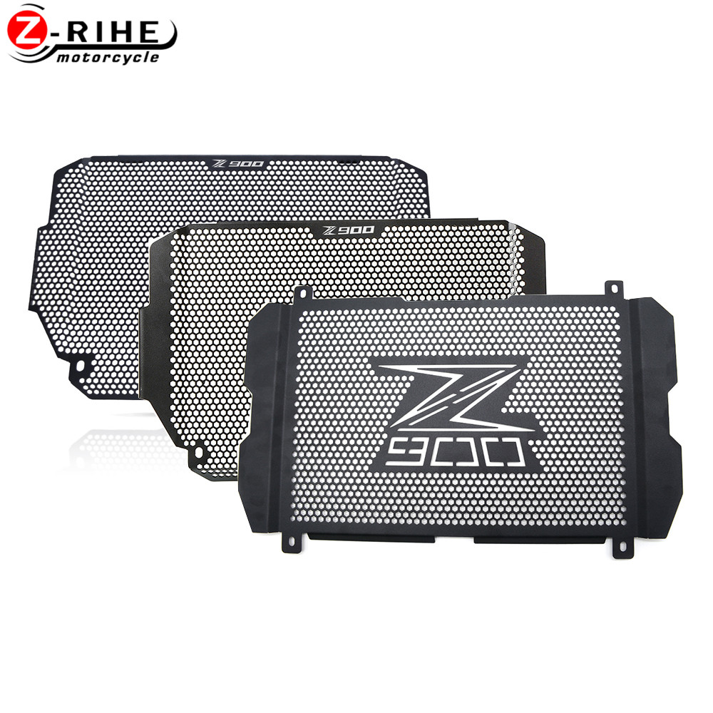 2020 Motorcycle Accessories For <font><b>Kawasaki</b></font> Z900 <font><b>Z</b></font> <font><b>900</b></font> <font><b>2017</b></font> 2018 2019 2020 18 19 Radiator Grille Guard Protection Motorbike Parts image