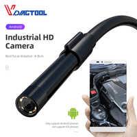 Vdiagtool Endoskop Kamera 5,5mm 7mm 8mm IP67 Wasserdicht 6 LED Endoskop Auto Inspektion Kamera Für Android Loptop