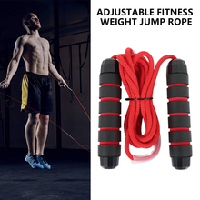 Unisex Adjustable Bearing Skip Rope Speed Fitness Aerobic Jumping Exercise And Fitness Equipment Home Gym Skipping Jump Rope D30 aerobics trainer home gym fitness workout system adjustable aerobic platform cushion top 4 risers
