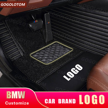 car floor mats for BMW e30 e34 e36 e39 e46 e60 e90 f10 f30 x1 x3 x4 x5 x6 1/2/3/4/5/6/7 car accessories styling Custom car carpe