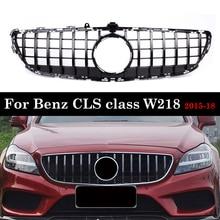 for Mercedes Benz CLS Class W218 GT Grille 2015 2018 Front Bumper Without Emblem CLS300 CLS350 CLS450 CLS500