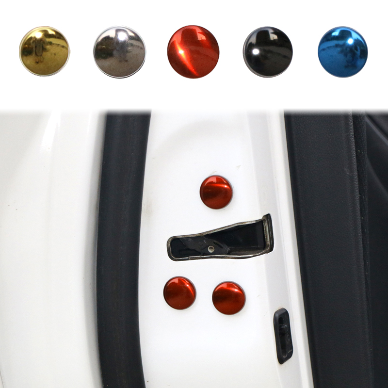 12pcs/set Car Door Lock Screw Protector Cover For Toyota Fortuner Avensis Auris Hilux Corolla Camry RAV4 Prius Yaris Accessories