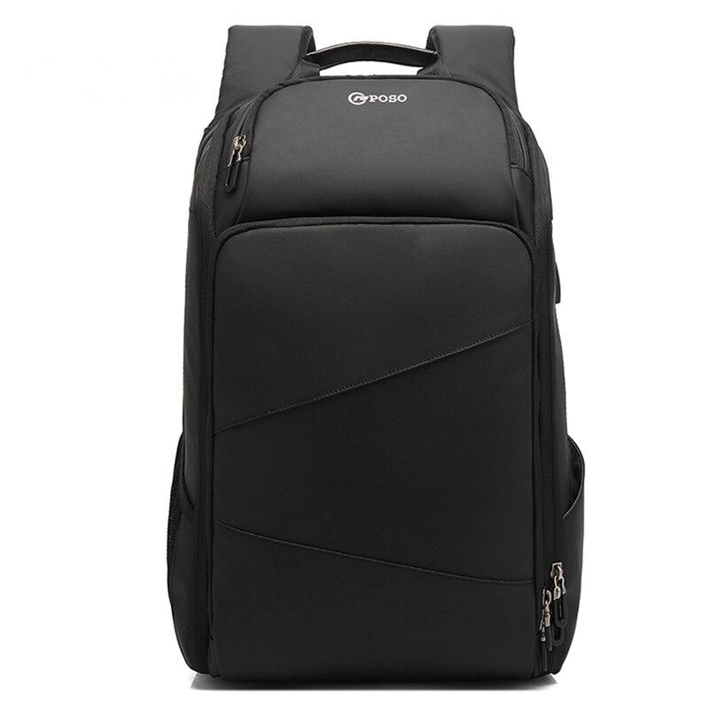Men's Travel Bag Backpack Men Large School Backpacks For Teens USB Charging 17.3 Inch Laptop Backpack Waterproof Male Mochila