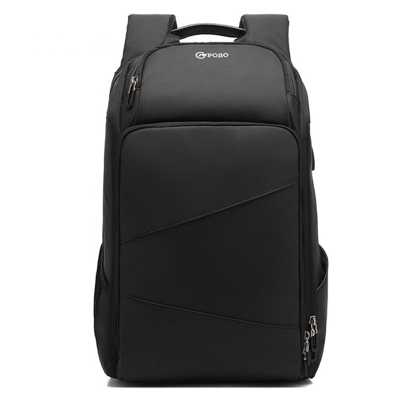 Sac de voyage pour hommes sac à dos hommes grands sacs à dos d'école pour les adolescents USB charge 17.3 pouces sac à dos pour ordinateur portable étanche mâle Mochila