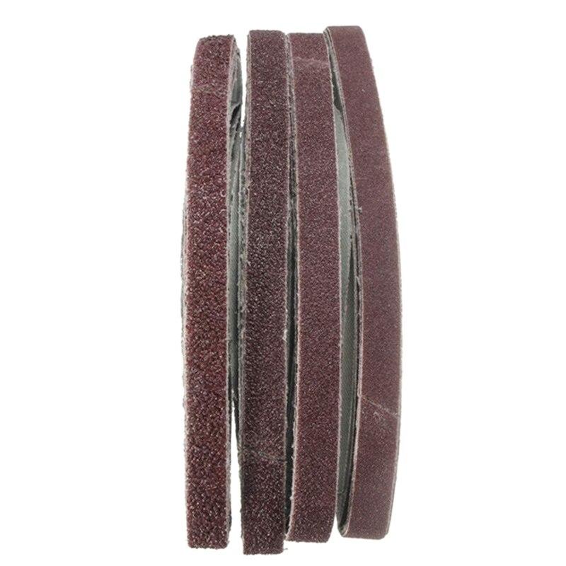 20Pcs 13X457Mm Zirconia Abrasive Sanding Belts 40/60/80/120 Grit|Sanding Discs| |  - title=