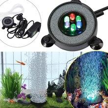 Us/eu/au/ukplug Light Fish-Tank-Lamp Led-Decoration Bubble Auto-Color-Changing-Light