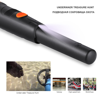 Waterproof Pinpointer Depth Metal Detectors MD-720 Underground Gold Detector Professional Pin Pointer Wiring Wall Detector 1