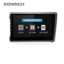Xonrich Car Multimedia Player 2 Din Android 8.1 For VOLVO S60 V70 XC70 XC90 2000 2001 2002 2003 2004 Radio GPS Navigation 2G RAM цена