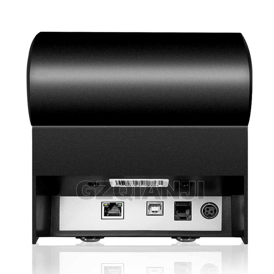 Image 4 - Pos Bill printer 80mm thermal receipt Small ticket barcode printerT Auto Cutting Restaurant Kitchen Printer USB Lan Serial Port-in Printers from Computer & Office