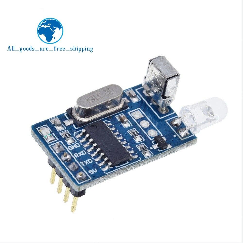 TZT 5V IR A Raggi Infrarossi A Distanza Decoder Codifica Trasmettitore Ricevitore Senza Fili di Qualità del Modulo in Magazzino per arduino