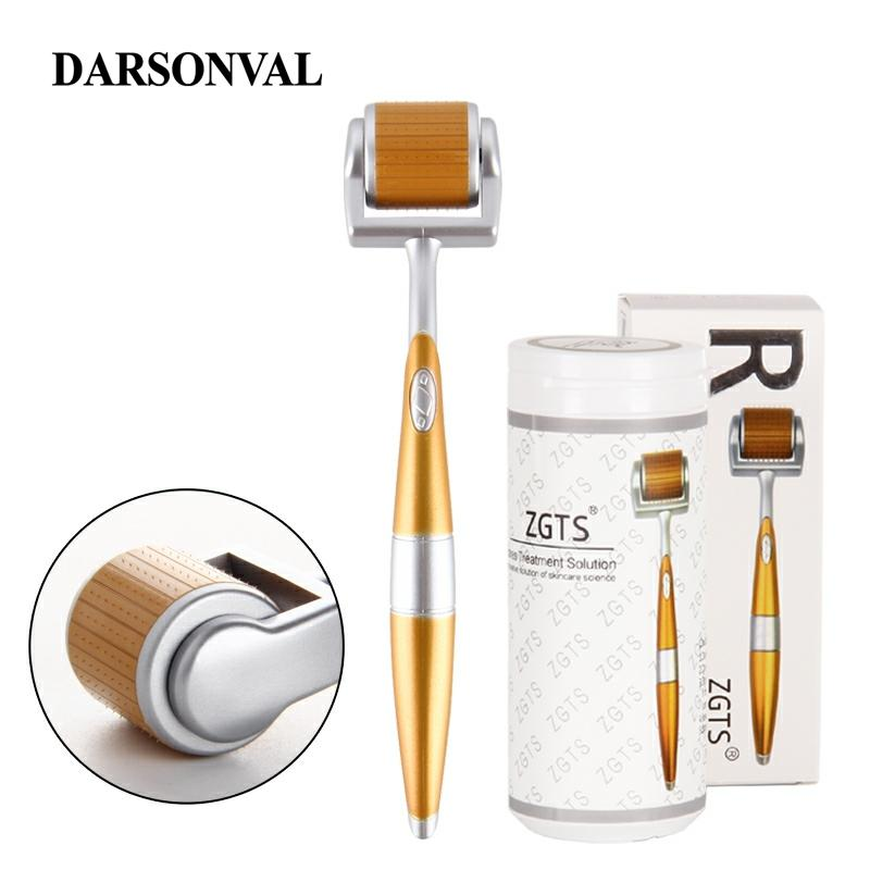 DARSONVAL 192 Derma Roller Micro Needles Titanium Microneedle Mezoroller Machine For For Skin Care And Hair-loss TreatmentDARSON