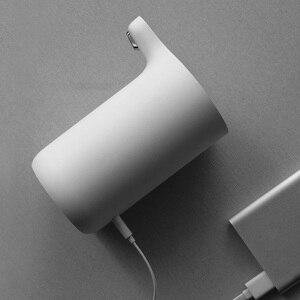 Image 5 - Портативный автоматический диспенсер для воды Youpin Sanjie, Электрический водяной насос, универсальная бутылка для галлонов, кнопка переключения, USB зарядное устройство