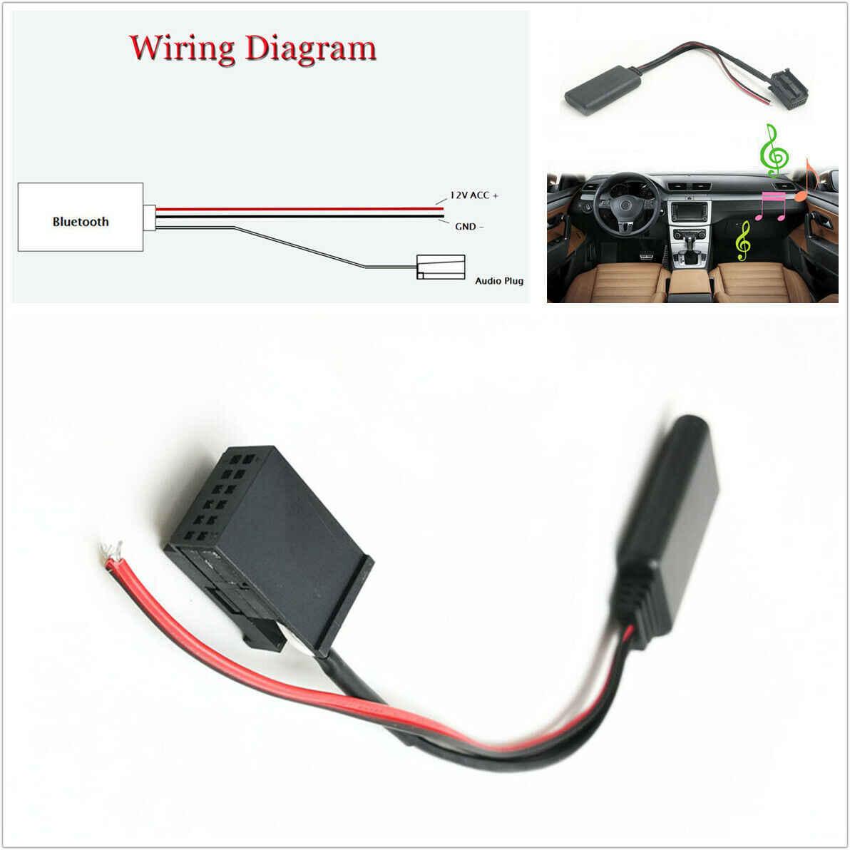 Bluetooth Audio AUX Kabel Adapter Fit für Opel CD30 MP3 CDC40 CD70 NAVI DVD90 AUX Wireless WMA WAV