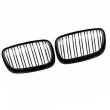 2pcs Car Front Kidney Grilles Car Styling For BMW X5 E70 X6 E71 2008-2013 Refit Hood Bumper Grille Glossy Black Car Accessories недорого