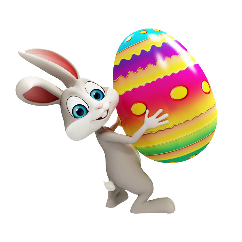Easter Egg Rabbit Craft Metal Cutting Dies Scrapbooking Stencils Template for DIY Album Photo Embossing Decorative Paper Card