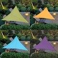 Треугольное быстрое водонепроницаемое солнцезащитное укрытие Защита от солнца наружный навес для сада патио бассейна тент для паруса