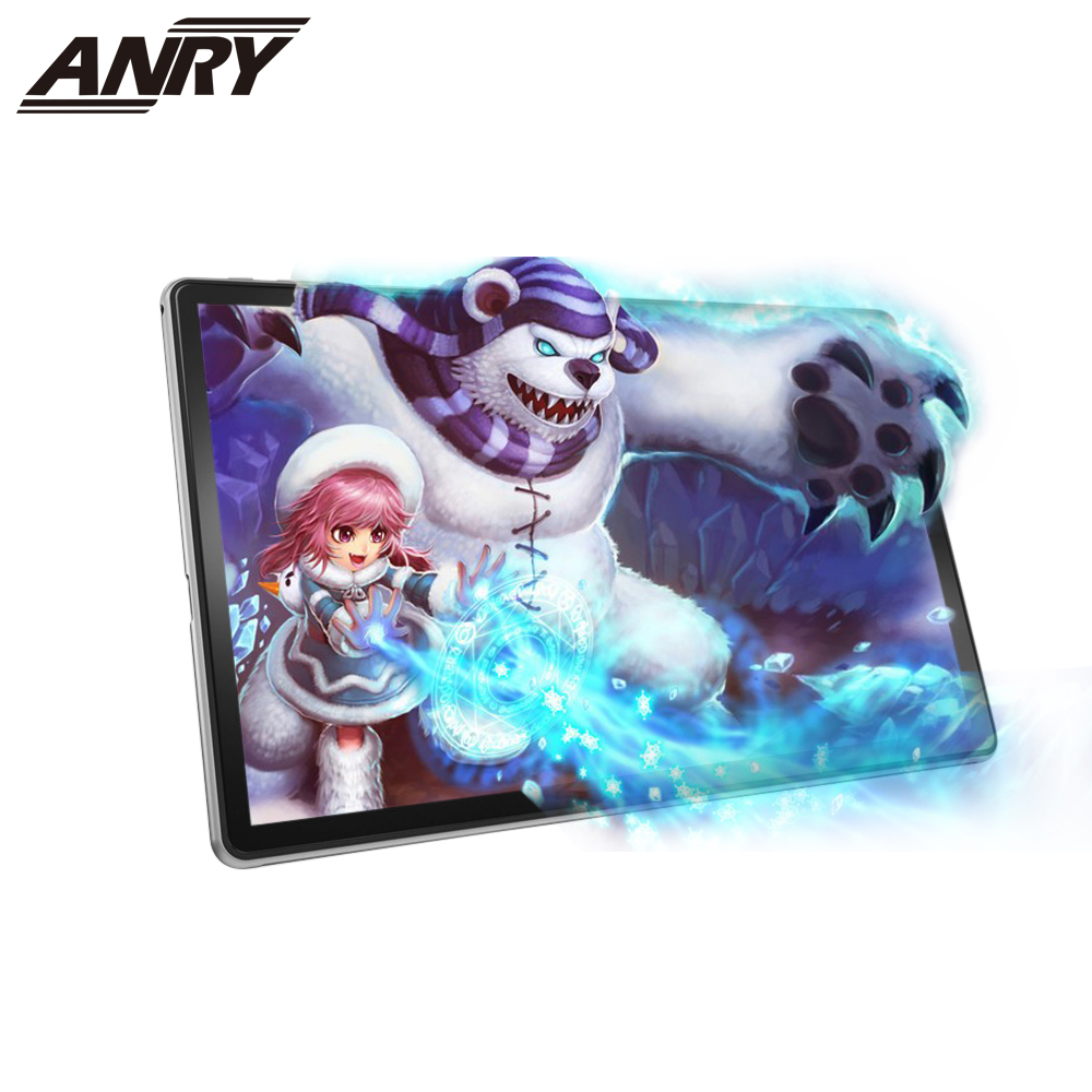 ANRY 4G Phone Call Tablet 2 In 1 11.6 Inch 3GB RAM 32GB ROM Android 8.1 Tablet PC 10 Core Dual Sim Card 8000Mah Tab For Business