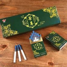Oolong Tea Cigarettes à base de plantes effacant les poumons pour arrêter de fumer pas de Nicotine et de tabac Cigarettes thé vraie fumée