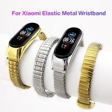 Браслет эластичный из нержавеющей стали для xiaomi mi band 3