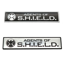 Car Sticker Emblem Badge Trail Rated Eagle-Logo Agents-Of-Shield Motorcycle Metal