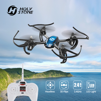 Holy Stone HS170 Mini Drone 6-Axis Gyro 4 Channels Racing Drone 2.4Ghz 3 Speed Mode Wind-resistant RC Helicopter Quadcopter