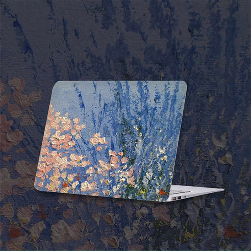 Case untuk MACBOOK AIR 13 Bunga Hard Cover untuk Apple Mac Buku 13.3 Inch A1466 A1369 Laptop Case untuk Macbook air A932 2019 Tritone